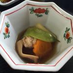 乗瀬高原荘 - 朝食  煮物
