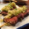 もつ焼き 稲垣 - 料理写真:葱たん塩焼き300円