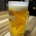 焼肉 GYUJIN - 生ビール