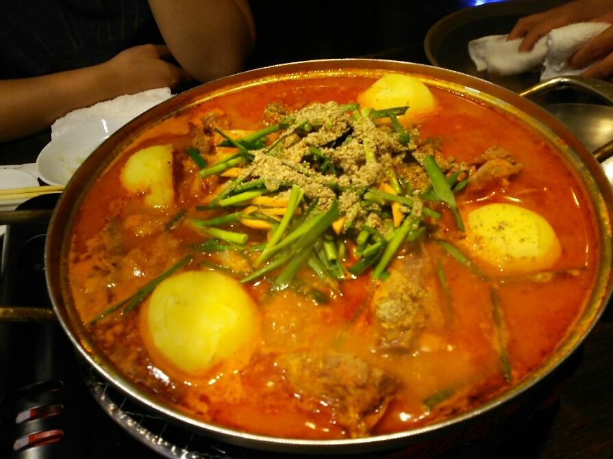 韓国料理 味楽家