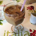 パッパパスタ - アイスカフェラテ