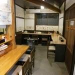 自家製麺 佐藤 - 店内の様子。2015年2月ver