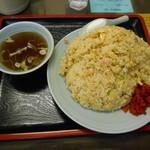 いち福 - 炒飯大盛り750円