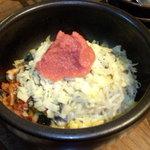 40757995 - 石焼チーズ明太子ビビンバ