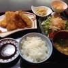 北一条 - 料理写真:イカフライ定食850円