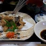 海舟 - とび魚の唐揚定食(D-LUX (Typ 109))
