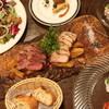 熟成肉×Bistro OGINO - 料理写真:牛と豚のダブルメインコース