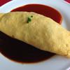 カフェプラザオークラ - 料理写真:オムライス(トマト&デミ)