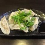 麺工房 武 - 手作りパクチー入り水餃子