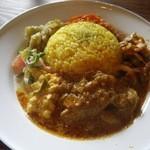 ミジンコブンコ - 料理写真:おばんざいカレー(15-08)