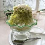 ユニバーサル洋菓子店 - 料理写真:かき氷(抹茶ハニー)