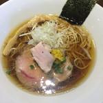 虎徹 - 虎徹そば醤油、細麺(750円)