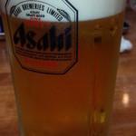 粋宏閣 - 生ビール