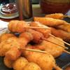焼酎道楽 甑 - 料理写真:串カツ盛り合わせ