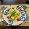 鎌倉パスタ - 料理写真:モッツァレラとトマトのカプレーゼ風冷製パスタ