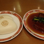 京華園 - 豚角煮まんじゅう