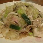 京華園 - 皿うどん(細麺)