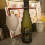 メコン - 「白ワイン(ジュナールシャルドネ)」のハーフ1260円