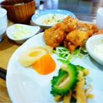 タビタビ - 料理写真:日替わりランチ(チキン南蛮)