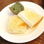 40831482 - よもぎパン・シュガートースト・きな粉パン