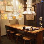 ホルモン本舗 昭和館 - 大テーブル席