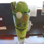 嵐山おぶう - 特選濃茶パフェ