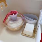 Un Petit Star - 料理写真:ざるチーズ(小) と 白い雪☆