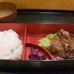 大井肉店 - 料理写真:大判網焼き弁当(1,188円)
