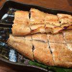 うなぎの豊川 - 201508再訪 白焼き