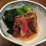 うなぎの豊川 - 201508再訪 うざく