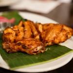 ダバインディア - 2015.8 地鶏半羽のタンドリーチキン(1,370円)