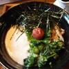 浅見茶屋  - 料理写真:梅しそねばとろうどん