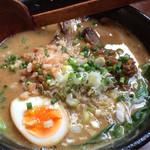 北斗辛軒 - チャーシュー担々麺 味玉トッピング