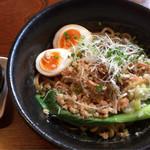 北斗辛軒 - 汁なし担々麺 味玉トッピング