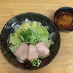 かみ - つけ野菜  (麺なし)  辛さ×最高レベル〜❤️❤️❤️
