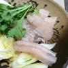 寿司よし - 料理写真:はも泉州鍋