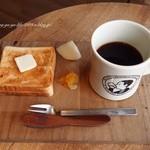 40894989 - 2015.8  ペリカンのパンのトーストセット500円