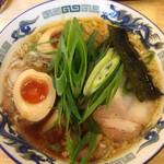 もんど - 蔵出し醤油味玉麺 2012.11撮影