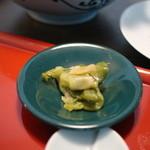 中国料理 吉珍樓 - ランチのザーサイ