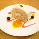 茶語 - ロールケーキ