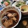さらい - 料理写真:今日の日替わりはガンドの荒炊きがありました! ボリューミー♥ 甘辛でご飯が進む~♪