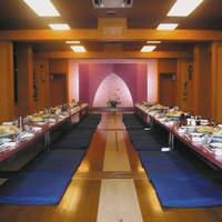 ばんらい - 個室をつなげ、60名様の宴会可能な大広間に。
