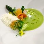 meli melo - 料理写真:グリーンアスパラのスープ