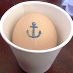 赤煉瓦カフェ ジャズ - 海軍ゆで卵
