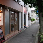 ヴィノテカ アッカ - 店入口