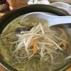 旭川ラーメン熊ッ子 - 料理写真:塩野菜ラーメン750円 3日連続ラーメン!