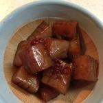 道の駅 伊勢本街道 御杖 - 「昔こんにゃく」を使って、蒟蒻の甘辛煮を作りました