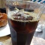 PAUL - アイスコーヒー・・薄めですが量があるのは嬉しいかも。