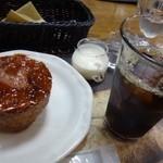 PAUL - クイニーアマンとアイスコーヒーを選びました。