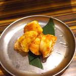 蒲田ホルモン劇場 - まる腸(¥734)。牛の小腸、予想をはるかに超える大きさでの提供!